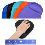 Logo Branded Mouse Pad with Gel Wrist Rest
