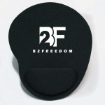 Logo Branded Mouse Pad With Rest