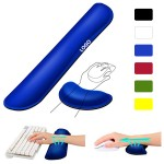 Custom Imprinted Memory Foam Keyboard Wrist Rest Support Set