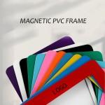 Magnetic PVC Photo Frame Logo Branded
