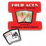 13-20 Sq. In. Custom Shape Acrylic Magnet Frame Logo Branded