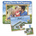Custom Printed Puzzle Picture Frame Magnet