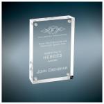 "4"" x 6"" - Laser Engraved Magnetic Acrylic Frames or Awards Logo Branded"