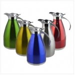 Stainless Steel Coffee Canteen Pitcher Custom Branded