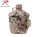 G.I. Type Multicam M.O.L.L.E. Compatible Canteen Cover Custom Branded