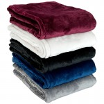 Custom Embroidered Fairmont Mink Touch Blanket