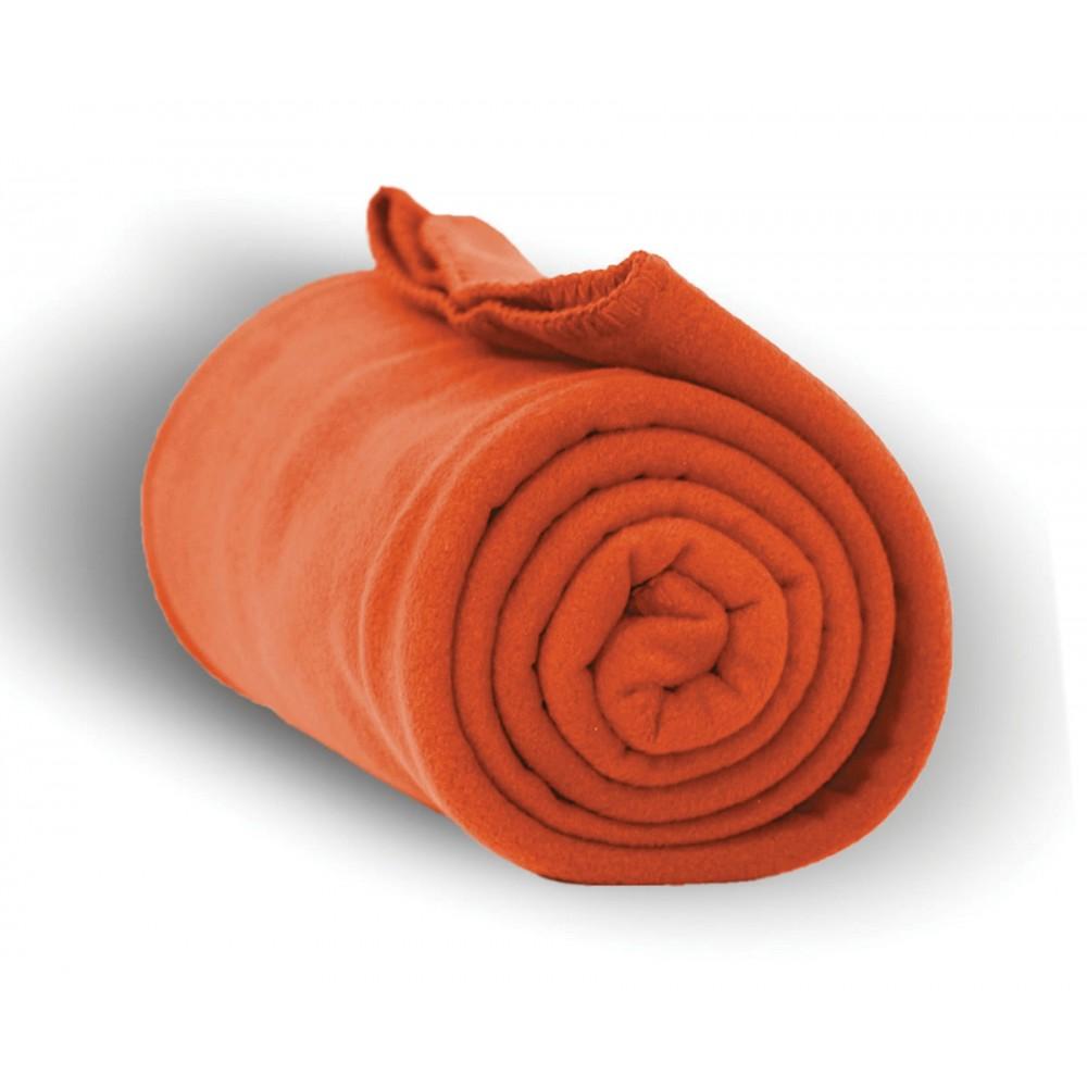 "Custom Imprinted Anti Pill Fleece Blanket - 1 Color (50""x60"")"