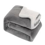 Custom Imprinted Lightweight Super Soft Sherpa Fleece Blanket