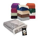 Fairwood Oversize Sherpa Blanket & Hangtag Logo Branded