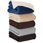 Fairwood Oversize Sherpa Blanket Custom Embroidered