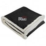 Custom Imprinted Field & Co. Cambridge Oversized Sherpa Blanket