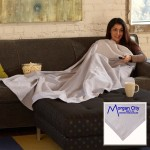 Custom Embroidered Jersey Fleece Blanket