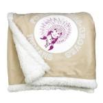 Custom Embroidered Sherpa Blanket