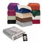 Custom Embroidered Brookline Micro Mink Sherpa Blanket & Hangtag