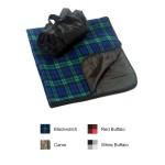 Polyester Folding Fleece Carrying Blanket Logo Branded