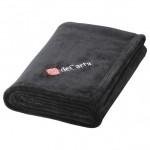 Logo Branded Micro Coral Plush Blanket