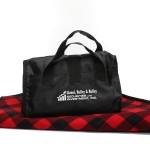 Fleece / Nylon Picnic Blanket Logo Branded