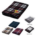 Custom Imprinted Fraser Fleece Blanket