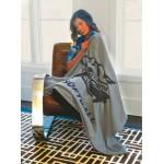 Custom Imprinted Cobblestone Mills Standard Size Stonehouse Sweatshirt Blanket