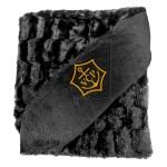 Micro Mink Faux Fur Throw Custom Imprinted