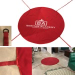 6' Round Blanket With Straps Custom Imprinted