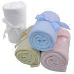 Fleece Baby Blanket Logo Branded