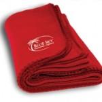 Custom Embroidered Promo Fleece Blanket