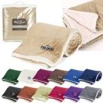 Mink Sherpa Blanket (Solid) Custom Imprinted