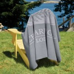 Promo Fleece Blanket (Screen Print) Custom Embroidered