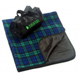 Custom Embroidered Blackwatch Plaid Picnic Blanket (Imprinted)