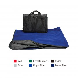 Logo Branded Alpine Fleece/Nylon Picnic Blanket