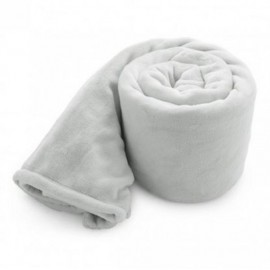 Baby Cloud Mink Touch Baby Blanket - Pure White (Overseas) Logo Branded