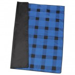 Custom Imprinted Buffalo Plaid Fleece Picnic Blanket