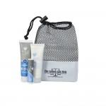 Aloe Up Small Mesh Bag with Sport Sunscreen Custom Imprinted