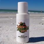 2 Oz. SPF30 Sunscreen (Boston Round Bottle) USA MADE Custom Printed