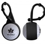 Promotional Silicone Carabiner Golf Ball Sunscreen
