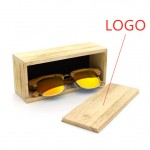 Custom Printed Bamboo Sunglasses Box
