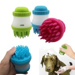 Custom Printed Pet Massage Bath Comb