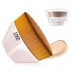 Portable Foundation Makeup Brush w/ Plastic Box Custom Printed