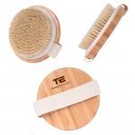 Natural Portable Exfoliating Shower Bristle Body Brush Logo Branded