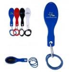 Custom Printed Hairbrush w/Rubber Bands