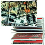 3D Lenticular ID / Credit Card Holder (Money) Logo Branded