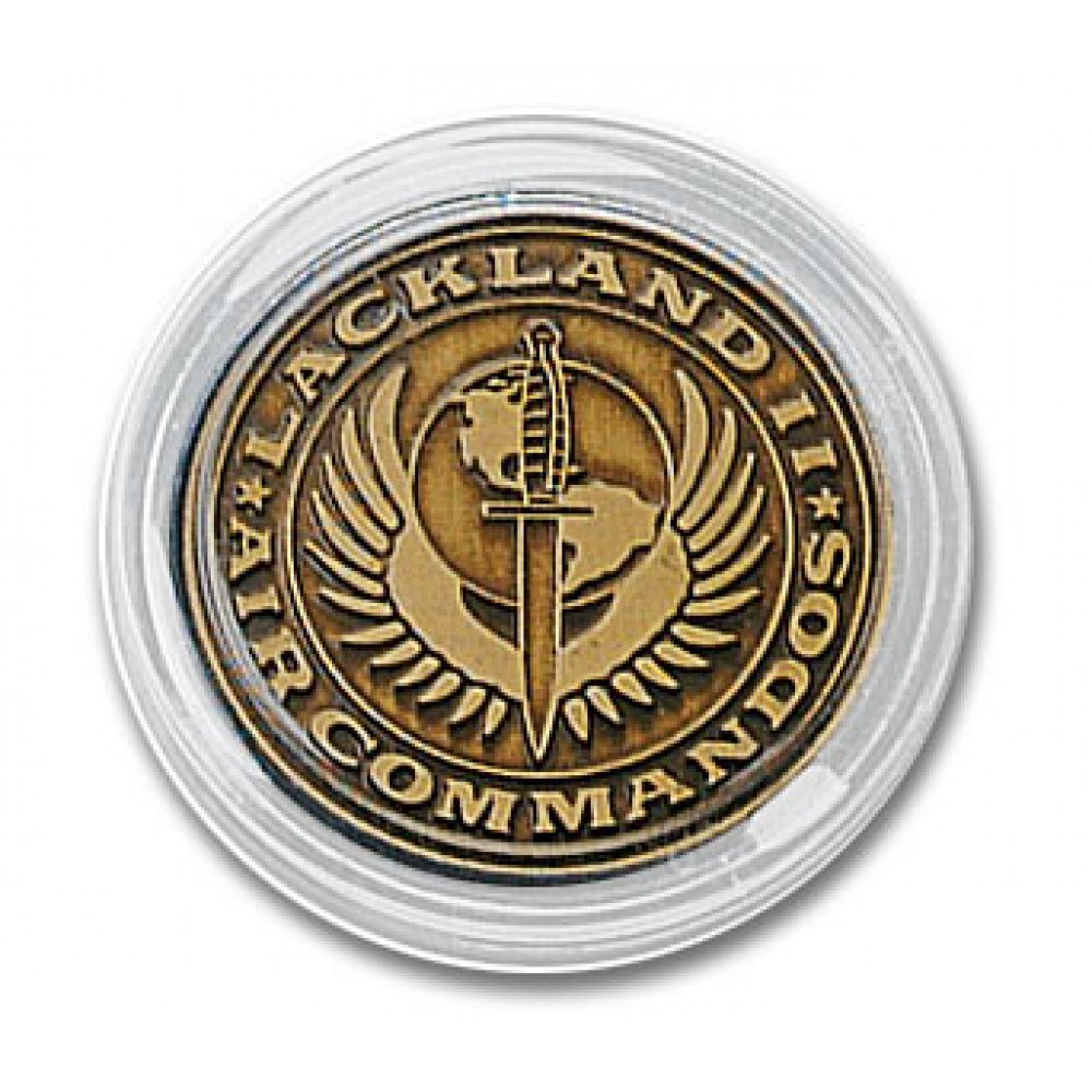 Logo Branded Clear Acrylic Capsules for Coins