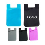 Custom Imprinted Silicone Phone Card Wallet
