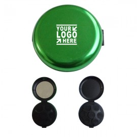Logo Branded Aluminum Coin Organizer Case