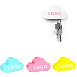 Cloud Magnetic Wall Key Holder Logo Branded