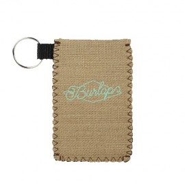 Card Guardian Burlap Neoprene Custom Imprinted