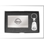 Cardholder and Key Tag Set Custom Imprinted
