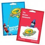 """Gift Card Hanger (4 1/4""""x3"""") Logo Branded"""
