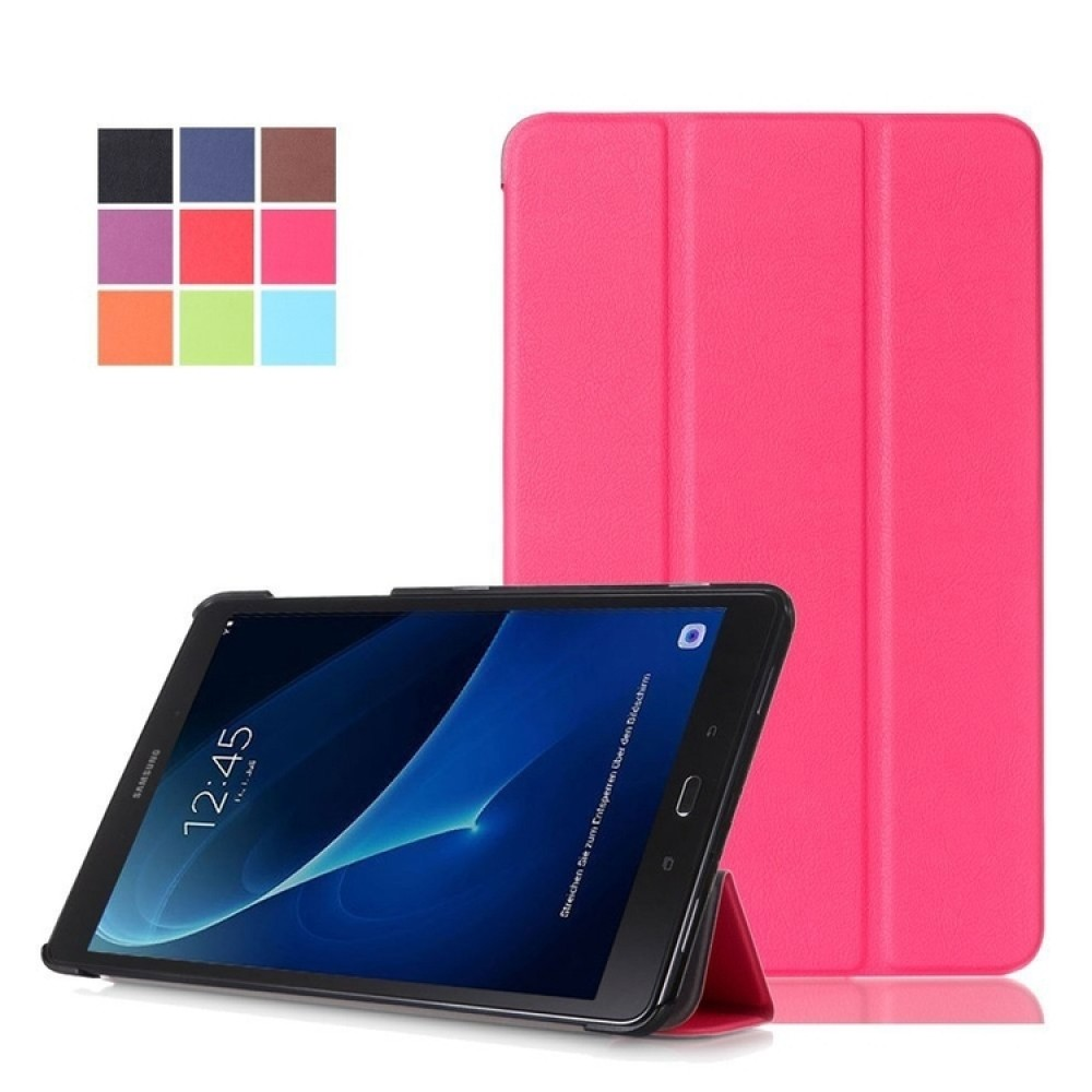 "Custom Imprinted iBank(R) Galaxy Tab A 8"" Protective Case (Pink)"